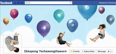 Facebook Timeline Inspiration - Balloons.
