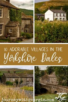 The Yorkshire Dales are famous for beautiful natural landscapes - but there's beautiful villages in the Yorkshire Dales, too. Here are ten of the prettiest! Yorkshire England, Yorkshire Dales, North Yorkshire, Visit Yorkshire, Cornwall England, Yard Crashers, Tours Of England, Lake District, British Isles
