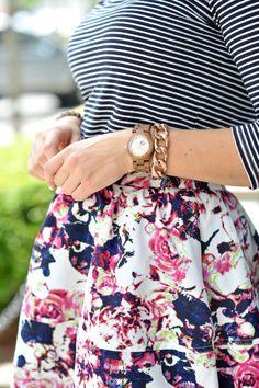 Floral Express skirt