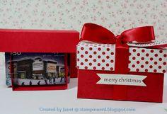 Stampin Nerd: Pop-up Gift Card Box -- Tutorial