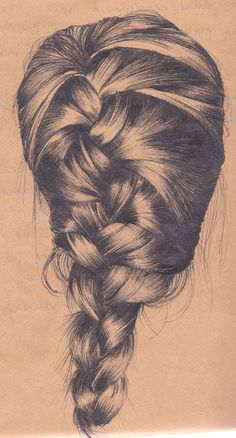 Studio 1 - Hair 2012 by Eleanor Spanton, via Behance #braid