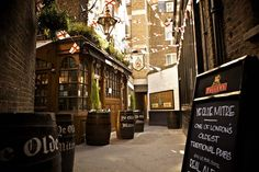 Ye Olde Mitre A pub of no little history, built in 1546 and extended in 1782. Henry VIII was married in St.Ethelredas next door and his daughter, Queen Elizabeth, is said to have danced around the cherry tree at our door with Sir Christopher Hatton.