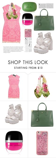 """""""Untitled #218"""" by coffeegirl233 ❤ liked on Polyvore featuring Prada, Marc Jacobs, ban.do and Sisley"""