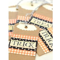 Trick or Treat Mini Bags Project by Vanessa Spencer