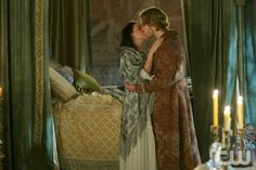 """Reign -- """"Forbidden"""" -- Image Number: -- Pictured (L-R): Adelaide Kane as Mary, Queen of Scotland and France and Toby Regbo as King Francis II -- Photo: Sven Frenzel/The CW -- © 2015 The CW Network, LLC. All rights reserved. Reign Cast, Reign Tv Show, Mary Queen Of Scots, Queen Mary, Reign Season 2, Isabel Tudor, Reign Mary And Francis, Adelaine Kane, Marie Stuart"""