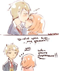 Mirai and Akihito: How Unpleasant by SugiBoogie