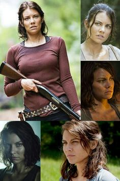 Maggie Greene (New leader of the Hill Top/Wife to Glenn Rhee/Daughter to Hershel Greene/Sister to Beth Greene/Former farm hand on the Greene Family Farm/ Former Govern Assistant for Alexandria) Missing - off with Georgie's group The Walking Dead 2, Walking Dead Funny, Walking Dead Zombies, Maggie Greene, Beth Greene, Dead King, Lauren Cohan, Daryl Dixon, Favorite Tv Shows