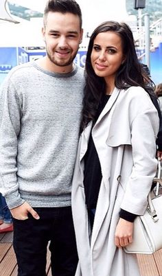 Liam Payne Spends Time in Monte Carlo with Girlfriend Sophia Smith!: Photo Liam Payne takes a break from checking out the race cars to pose for a cute photo with girlfriend Sophia Smith on Thursday (May in Monte Carlo, Monaco. One Direction Liam Payne, One Direction News, One Direction Singers, Liam James, Sophia Smith, Cheryl Fernandez Versini, Romantic Breaks, My Family Photo, Fans