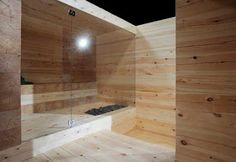 More Sauna Week! One of our favorites, a concept by called Kyly. Kyly is an old Karelian word and means sauna or bathing. Contemporary Saunas, Modern Saunas, Modern Contemporary, Sauna Steam Room, Sauna Room, Steam Bath, Portable Sauna, Sauna Design, Outdoor Sauna