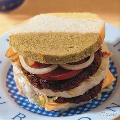 美式牛肉土司堡食譜 - 牛肉料理 - 楊桃美食網 專業食譜