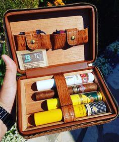 Love my new Cigar Star travel case! #cigars #canadian #loveyourhumidor #sotl #cohiba #cubancigars #quality #cigarlife #cigarsnob #cigarlyfe #goodlife #agedcigars #cigarporn #cigaraficionado #travelhumidor #cigarstar