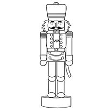 christmas nutcracker coloring pages printable - photo#12