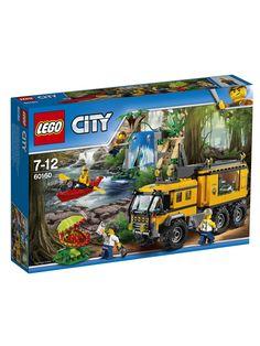 Конструкторы Lego LEGO City Jungle Explorer Передвижная лаборатория в джунглях 60160