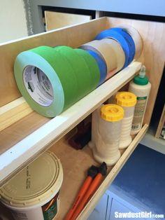Drawers for Organized Workshop Storage Build organized storage drawers for the workshop.Build organized storage drawers for the workshop. Woodworking For Kids, Woodworking Workshop, Easy Woodworking Projects, Woodworking Videos, Woodworking Bench, Woodworking Tools, Wood Projects, Woodworking Jigsaw, Woodworking Patterns