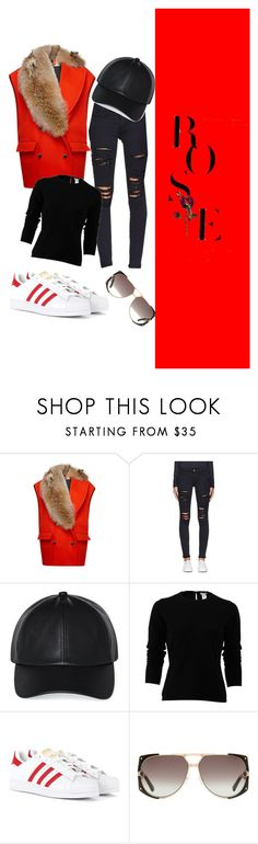 """""""Untitled #34"""" by pantelimon-denisa ❤ liked on Polyvore featuring Nina Ricci, Frame, Wilfred, Oscar de la Renta, adidas Originals and Christian Dior"""