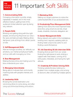 The 11 Types Of Important Soft Skills. The 11 Types Of Important Soft Skills. The 11 Types Of Important Soft Skills. Job Interview Preparation, Interview Skills, Job Interview Tips, Job Interview Questions, Job Interviews, Preparing For An Interview, Informational Interview Questions, Situational Interview Questions, Job Interview Hairstyles