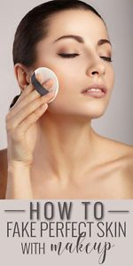 How to fake perfect skin with makeup - the steps and beauty products you need!