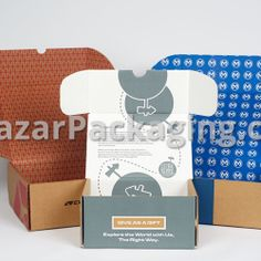 Packaging products and custom design with economical, eco-friendly materials. Print Packaging, Packaging Design, Custom Printed Boxes, Subscription Boxes, Pantone, Custom Design, Gallery, Prints, Interior