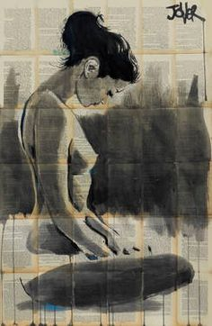 "Saatchi Art Artist Loui Jover; Drawing, ""topaz"" #art"