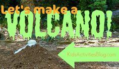 lets make a volcano