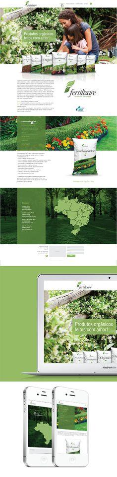 Design e programação do site fertilizare.ind.br