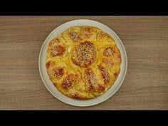 Αφράτη τυρόπιτα φόρμας με ζύμη γιαουρτιού Fluffy cheese pie with yoghourt crust - YouTube