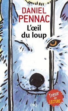 L'oeil du loup - Daniel Pennac. Dans un zoo, une enfant et un vieux loup borgne se fixent, oeil dans l'oeil. Tout la vie du loup défile au fond de son oeil : une vie sauvage en Alaska, une espèce menacée par les hommes. L'oeil de l'enfant raconte la vie d'un petit Africain qui a parcouru toute l'Afrique pour survivre. http://www.katalogoak.euskadi.net/cgi-bin_q81a/abnetclop?ACC=DOSEARCH&xsqf99=(1171137.TITN.)&LANG=eu-ES