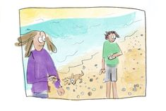 Haha, funny comic about sea glass. I always think about this too! Autobiographical Comics, Nice To Meet, Funny Comics, Sea Glass, Haha, Ha Ha, Funny Comic Strips, Funny Cartoons