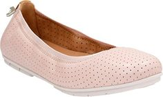 Clarks Women's Un Tract Nude Pink Leather Shoe - Clarks flats for women (*Amazon Partner-Link)
