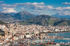 Salerno, Italy, where my Pappalardo great grandparents are from