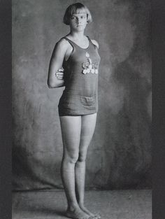American swimmer Adelaide Lambert. She competed in the 1928 Olympics, winning the gold medal in the 4x100 m freestyle relay.