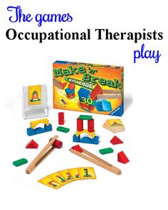 An opportunity to work on tool use as well as visual discrimination, spatial relations and problem solving. Visit my blog at The Playful Otter to learn different ways to play this game.
