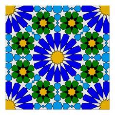 Shop Islamic geometric pattern wood wall art created by moresque. Islamic Art Pattern, Arabic Pattern, Pattern Art, Stained Glass Patterns, Mosaic Patterns, Design Patterns, Geometric Patterns, Moroccan Art, Cult