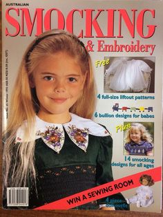 Australian Smocking & Embroidery - Issue 25 - Winter 1993 - Rare