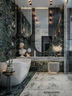 Washroom Design, Toilet Design, Bathroom Design Luxury, Modern Bathroom Decor, Luxury Interior Design, Modern Luxury Bathroom, Luxury Toilet, Amazing Bathrooms, Decoration