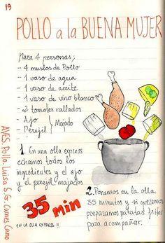 Chicken the Good Woman - Pollo - Recetas Good Woman, Kitchen Recipes, Cooking Recipes, Diet Recipes, Easy Sesame Chicken, Comida Diy, Venezuelan Food, Pollo Chicken, Cooked Chicken Recipes