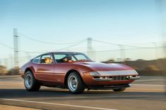Next month, Sotheby's will auction off casino legend Bill Harrah's personal Ferrari 365 GTB/4 Daytona Berlinetta. Check out the classic car at the link in our bio.