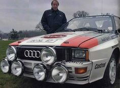 Hannu Mikkola ( World Rally Driver) / 1984 Audi Quattro Rally Car