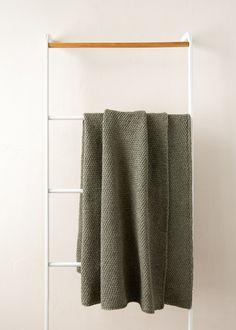 Diagonal Slip Stitch Blanket | Purl Soho