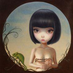 Illustrations by Chen Hongzhu Art And Illustration, Illustrations, Arte Lowbrow, Modern Art, Contemporary Art, Little Doll, Surreal Art, Cute Art, Pop Art