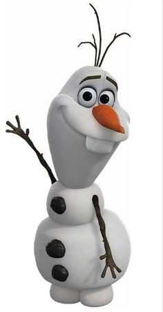 Day 12: Favorite NON Animal Sidekick (It was between Olaf and Tinker Bell but I went with Olaf.)