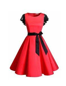 Touch of lace Belted Midi Dress Short Dresses, Prom Dresses, Summer Dresses, Ladies Dresses, Vestidos Sport, Older Women Fashion, Womens Fashion, Frock Dress, Black Laces