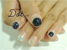 ZOZOPEOPLE   Dot+LIM nail - 星空ネイル