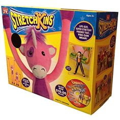 Stretchkins Unicorn Life-size Plush Toy That You Can Play, Dance, Exercise and Have Fun With ** Continue to the product at the image link. (This is an affiliate link) #PlushFigures