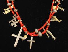 Mexican Ethnic Milagros NECKLACE ~