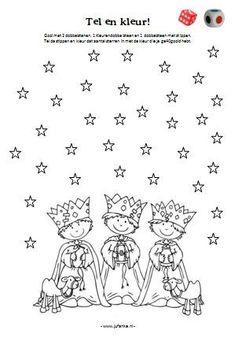 The three kings A Christmas Story, Christmas Colors, Kids Christmas, Christmas Activities For Kids, Christmas Printables, Colouring Pages, Coloring Books, Christmas Drawing, Theme Noel