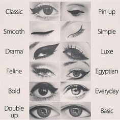 I quipped that I want to be a Bond girl instead of a princess. Reality. 12 types of winged liner cat eyes