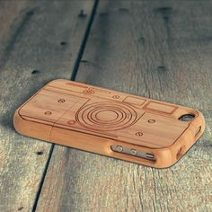 #iPhone Bamboo Case #Mobilephones