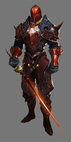 Crimson Red Knight Duelist
