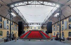 La simetría de los teatros